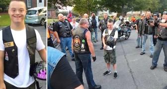 Un groupe de motards l'attend en bas de chez lui pour son premier jour d'école. La raison? Spéciale!