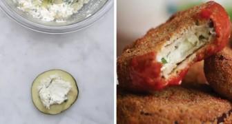 Medaglioni di melanzane ripieni al formaggio: dopo averli provati non potrete più farne a meno!