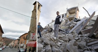 Le immagini prima e dopo il sisma: ecco cosa è accaduto e cosa bisogna fare ORA
