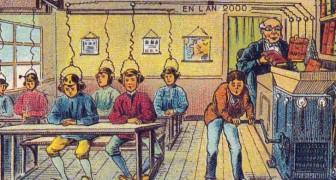 Illustratoren um 1900 wurden gebeten, die Menschheit im Jahr 2000 darzustellen: Hier das spannende Resultat