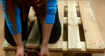 Voici comment créer une magnifique jardinière en utilisant une palette en bois