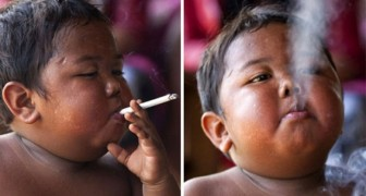 Remember the kid that smoked 40 cigarettes a day?
