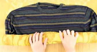 El sweter se encogio? Este es el truco para agrandarlo...Y es facilisimo!