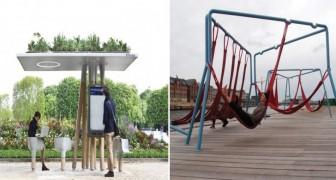 Spazi urbani all'avanguardia: ecco 12 idee geniali che li rendono più accoglienti