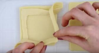 Sobremesa de maçã e massa folheada: primeiro você vai se apaixonar pelo cheiro e depois pelo sabor!