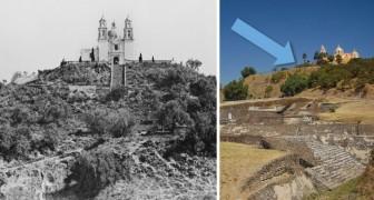C'est la plus grande pyramide du monde, mais pendant des années, elle a été prise pour une colline: voici est son histoire