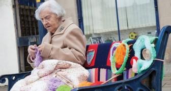 La street artist più anziana del mondo? Ha 104 anni e crea opere meravigliose.