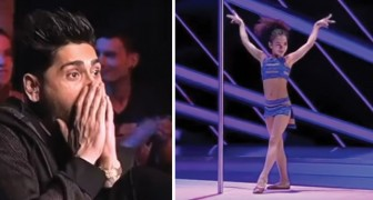 An 8-year-old girl gives an absolutely unforgettable performance!