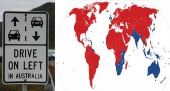 Perché in alcuni paesi si guida a destra e in altri a sinistra?