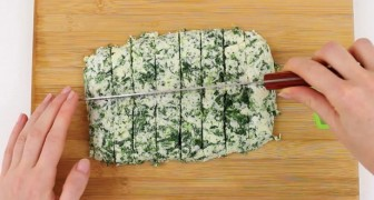 Combine spinach and cheese to create a delicious mouthwatering snack!