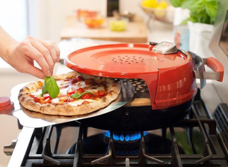 ecco l'invenzione che permette di cucinare la pizza sui fornelli ... - Cucinare Pizza
