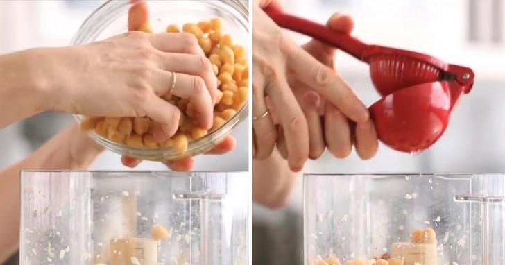 hummus di ceci: solo pochi minuti per cucinare questa salsa ... - Olio Di Sesamo Per Cucinare
