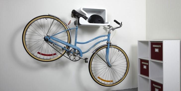 16 briljante oplossingen voor het op opslaan van je fiets - Soporte cuadros ikea ...