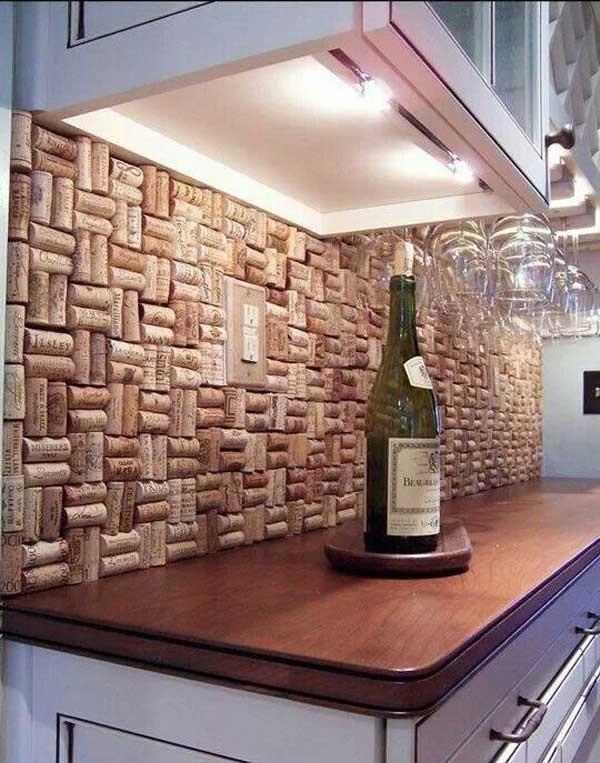 33 id es de bricolage avec des bouchons de bouteille de vin vous ne les jetterez plus. Black Bedroom Furniture Sets. Home Design Ideas