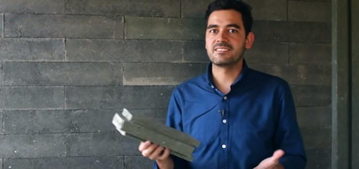 ein architekt entwickelt mauersteine die sich wie lego steine ganz einfach zusammensetzen lassen. Black Bedroom Furniture Sets. Home Design Ideas