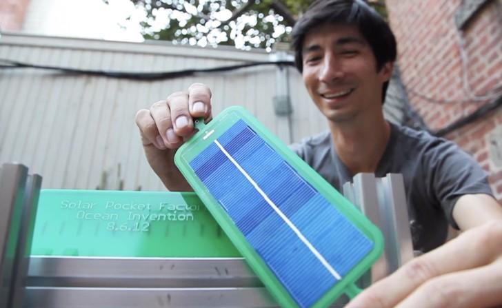 Erfindung solarzelle