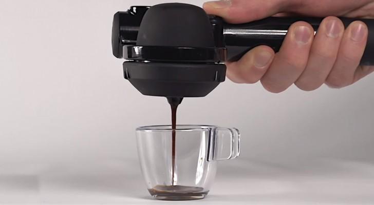 Einen Espresso wo und wann ihr wollt? Hier die Erfindung die ihr gesucht habt!