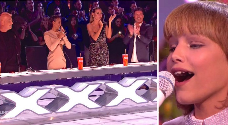 De winnares van dit seizoen zingt het laatste nummer: ALLE juryleden barsten uit in een staande ovatie voor haar!