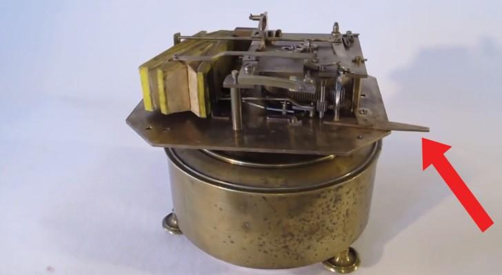 Attiva un macchinario del 1870: ecco la riproduzione