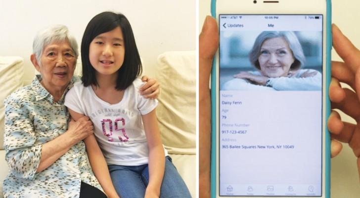 A cause de la maladie d'Alzheimer de sa grand-mère qui ne la reconnaît plus, elle développe une idée BRILLANTE.