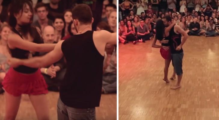 Een les in de dans Forrò: de dansers zijn volledig op elkaar afgestemd en de dans is ongelooflijk sensueel!