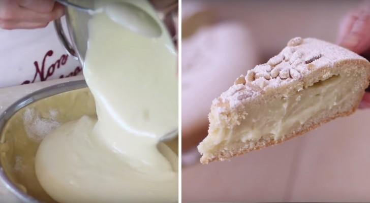 Torta della nonna: Die einfache Version einer traditionellen italienischen Torte