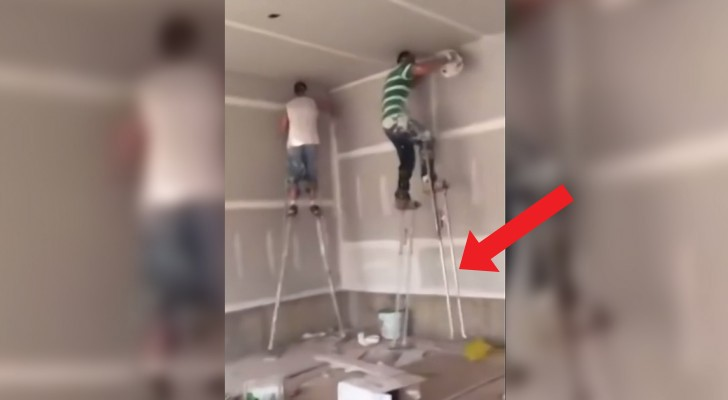 These two house painters are high level professionals!