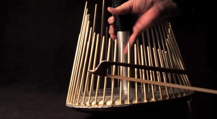 Asi es como son creados los sonidos de film de terror: este instrumento hace de verdad tener escalofrios!