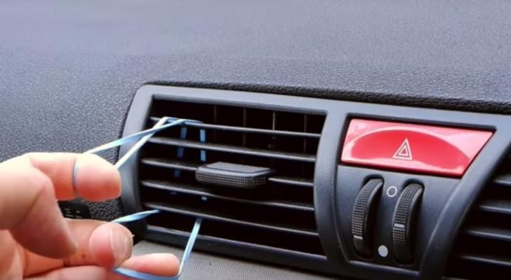 Med ett vanligt hårband i bilen kan du skapa en accessoar som kommer att göra din bil bättre!