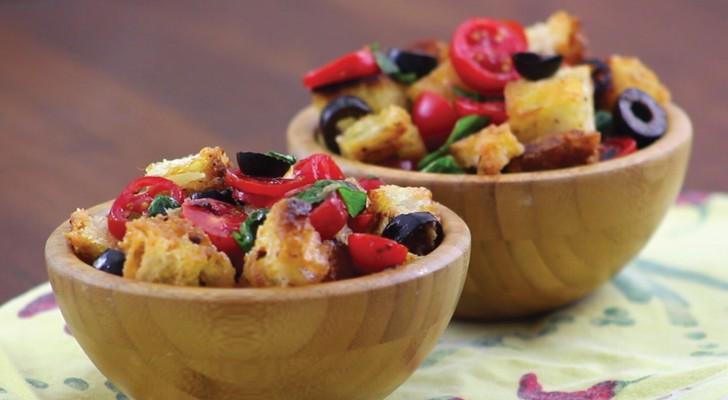 Bruschetta à la tomate: un classique de la cuisine italienne... avec une présentation ORIGINALE!