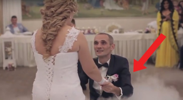 Newlyweds give a touching first dance!