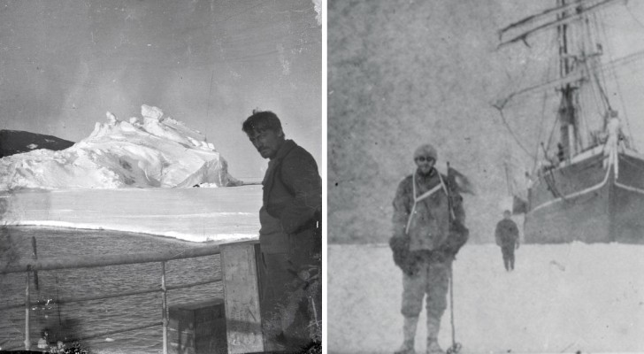 22 négatifs restés en Antarctique pendant un siècle: voici la mission héroïque que ceux-ci nous racontent