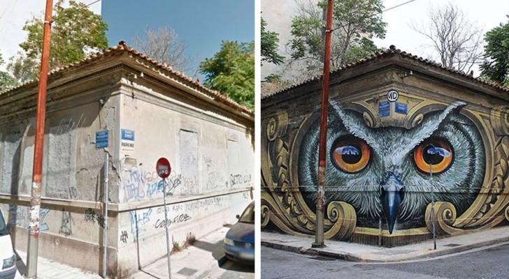 Ecco come la street art può trasformare il volto delle città... rendendolo INCANTEVOLE