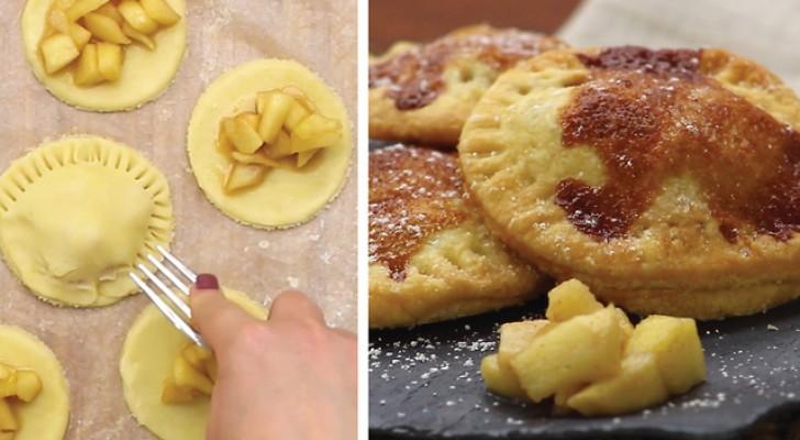 Petits gâteaux aux pommes maison: un dessert irrésistible ET sain!