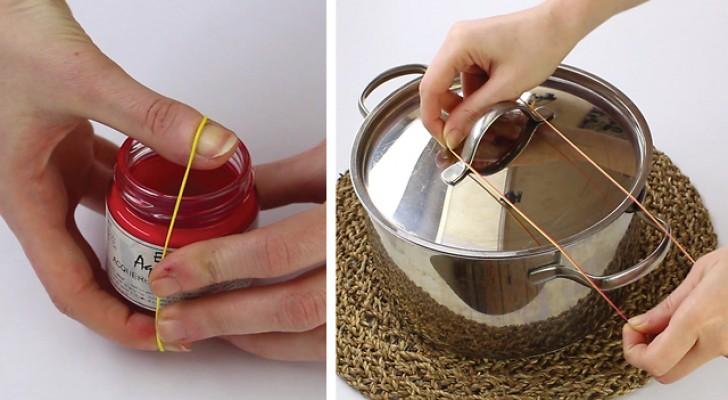 6 increibles trucos con los elasticos que te haran revalorizar su utilidad