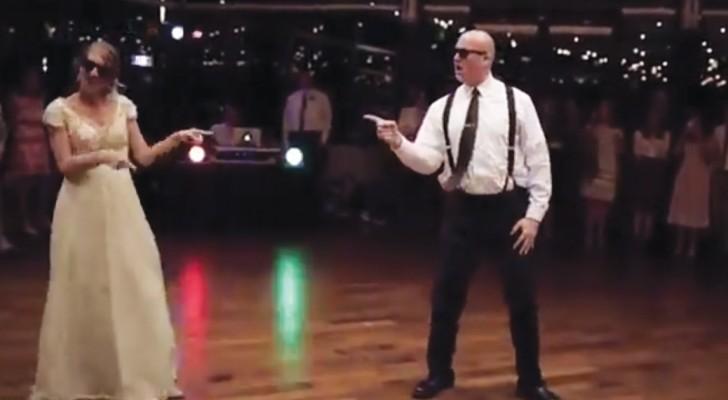 El mejor baile padre-hija de todos los tiempos: son tan buenos que estan haciendo divertir a toda la web!