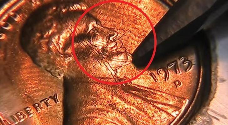 Wat deze kunstenaar creëert is buitengewoon: kijk hoe hij het gezicht op een munt verandert!