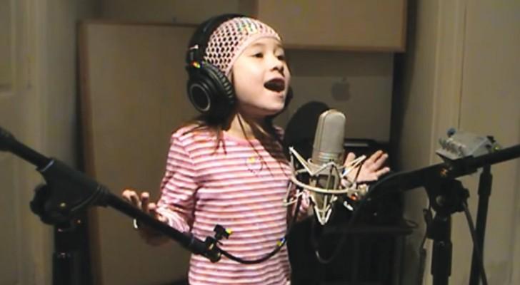 Entendre cette petite fille va vous donner la chair de poule: sa voix est exceptionnelle!