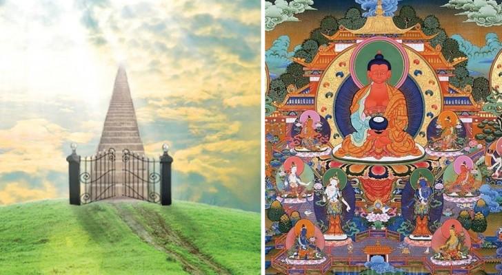 Cosa c'è nell'aldilà? Ecco come le principali religioni immaginano il Paradiso