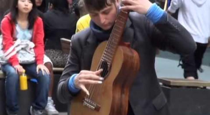 Le guitariste phénomène de Sydney