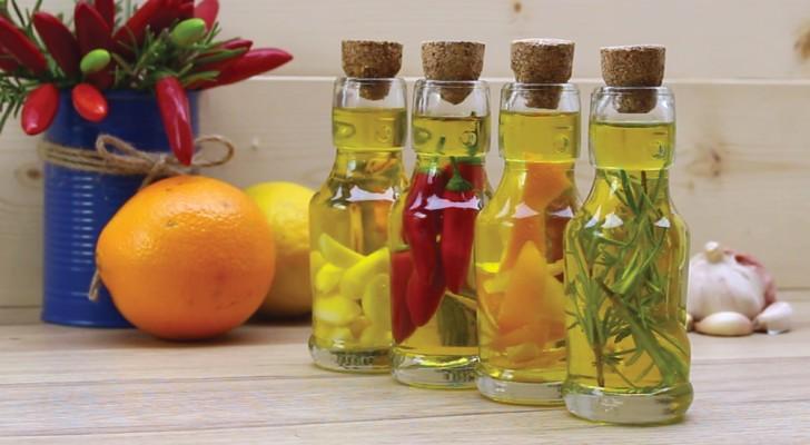 Você quer dar um toque de classe aos seus pratos? Veja 4 óleos aromatizados muito fáceis de preparar!
