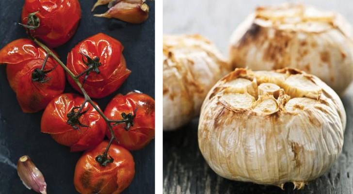8 tipo de frutas o vegetales que deberias cocinar al horno ENTEROS