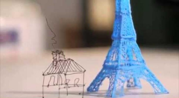 La lapicera que escribe en 3D