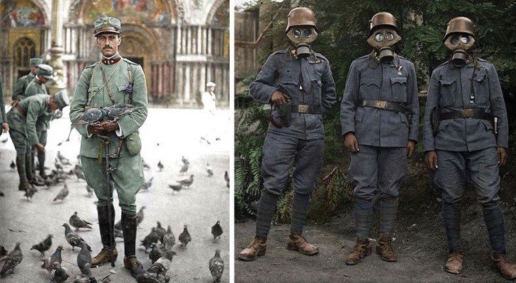 Ces photos rares nous montrent la Première Guerre mondiale comme nous l'avons jamais vue