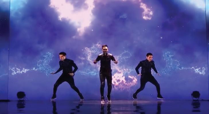 Alleen de danser is echt: deze choreografie is een MEESTERWERK van de grafische animatie