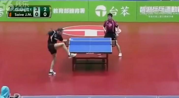 La partie de ping pong la plus drôle