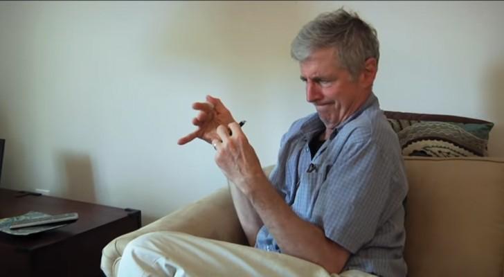 Tiene Parkinson desde hace 20 años: cuando comienza la terapia con la Marihuana el resultado es notable