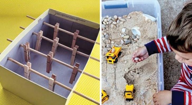 11 juguetes de construir en casa usando los materiales mas comunes