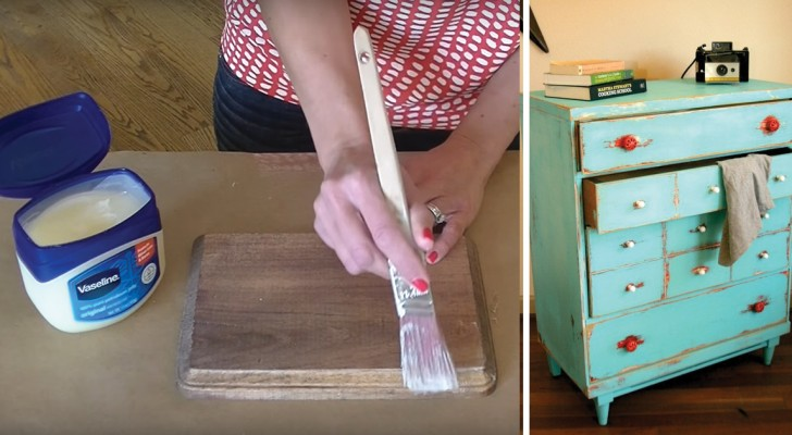 Transform furniture into vintage in only a few minutes!