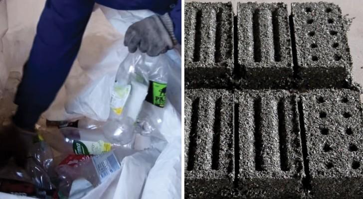Realizan ladrillos partiendo del plastico: los resultados que obtienen van mucho mas alla de las espectativas